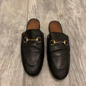 Authentic Princetown Gucci Mules (black—size 8)